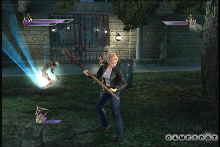 Buffy the vampire slayer chaos bleeds sony playstation 2 game.