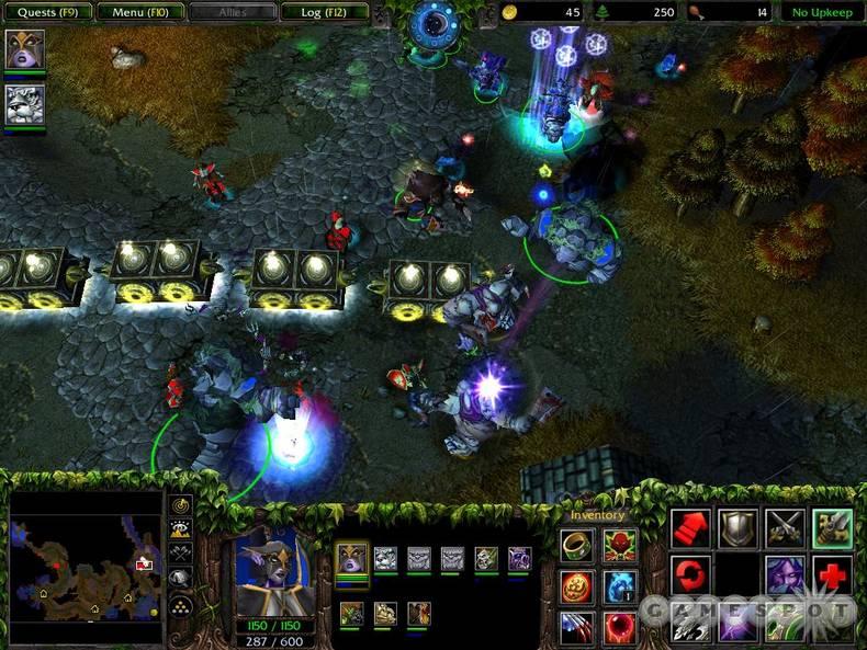 Warcraft dota - 121b(122а 124d (2004